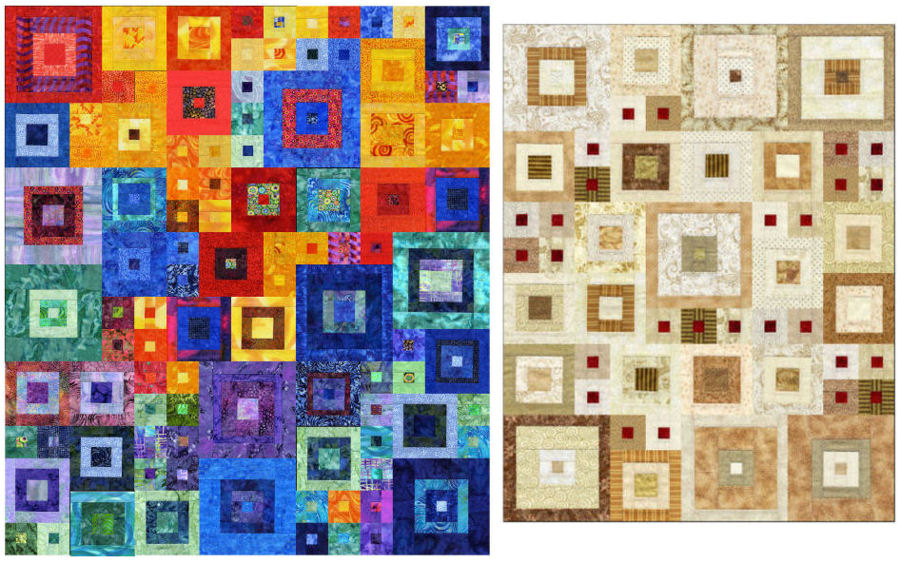 SCS Designs Miniature Quilt Art Quilts Online Classes Workshops : online quilt classes - Adamdwight.com